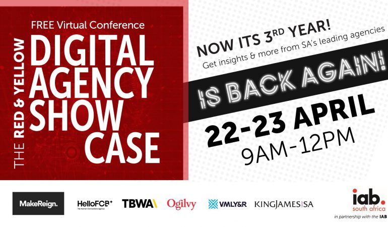 Red &Yellow's Agency Showcase Goes Digital