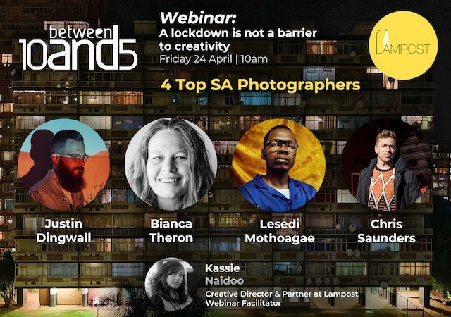 10and5 Webinar Talks Presents: 'A Lockdown is Not a Barrier to Creativity' in Collaboration with Lampost Productions
