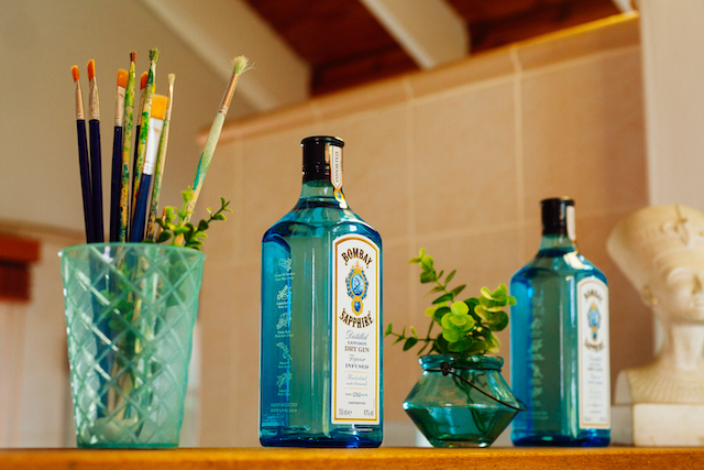 Michael Stephenson Helps Lulama Wolf Show Off Her Artistic Prowess in Bombay Sapphire's Stir Creativity Campaign