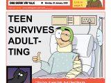 Herschel Links As Cartoonist & Graphiti Artist 'YOLK'