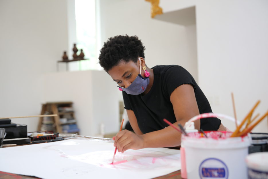 Reflections on a Residency: Yolanda Mazwana's 'After Midnight' Series