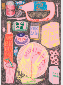 Overflowing Pantry (Pink)