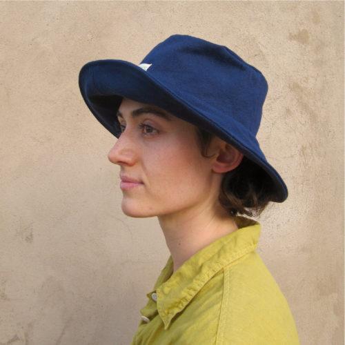 Sun Hat Indigo