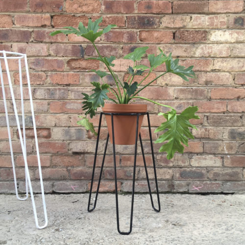 Plant Stand, Short Black