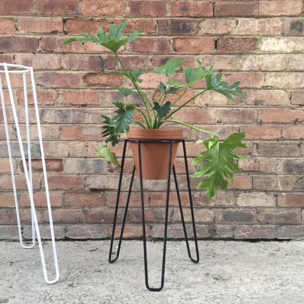 Plant Stand, Short Black