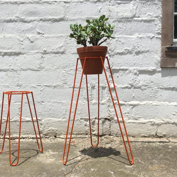 Plant Stand Tall Orange