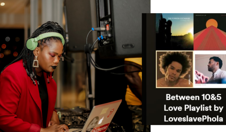 DJ LoveslavePhola Tells Us What She's Listening to and Curates a Playlist of Love Songs